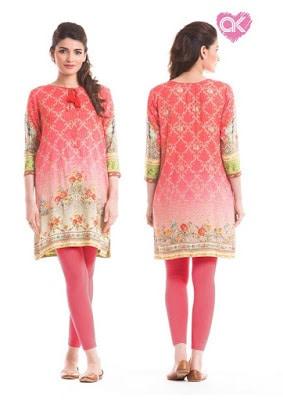 Alkaram latest kurta patterns for women