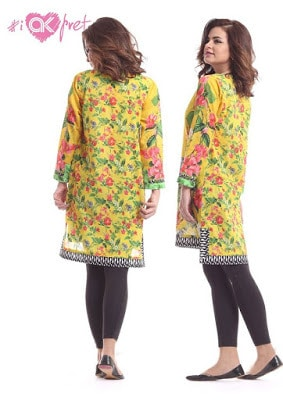 Alkaram design for ladies kurti