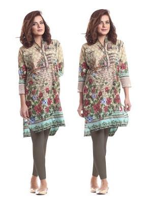 Alkaram designs for kurtis latest