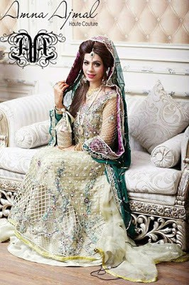 Amna Ajmal bridal wear & groom Dresses 2018 collection (9)