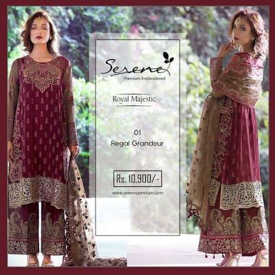 Serene-premium-winter-chiffon-royal-majestic-collection-2017-1