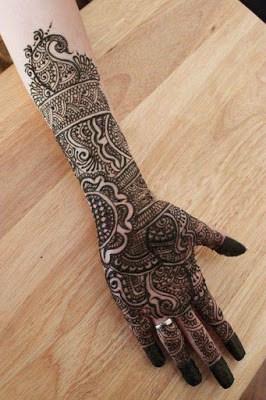 latest bridal mehndi Designs 2018 for hands for full hands (10)
