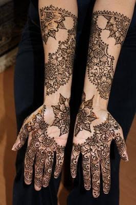 latest bridal mehndi Designs 2018 for hands for full hands (11)