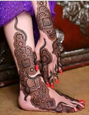 latest bridal mehndi Designs 2018 for hands for full hands (13)