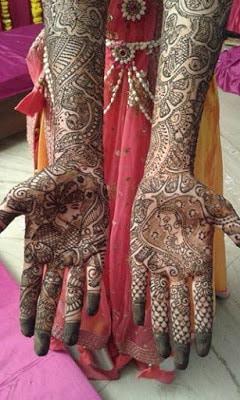 latest bridal mehndi Designs 2018 for hands for full hands (17)