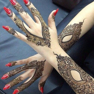 latest bridal mehndi Designs 2018 for hands for full hands (5)