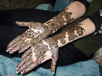 latest bridal mehndi Designs 2018 for hands for full hands (8)