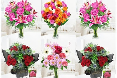 romantic bouquet of love flowers pictures for him-her