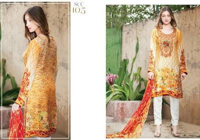 Shaista embroidered velvet silk collection