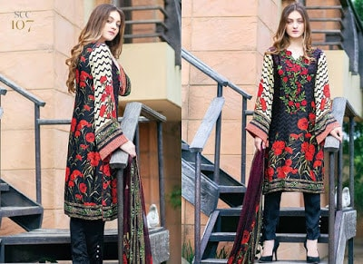 Shaista shamoze beautiful embroidered dresses