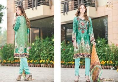 Shaista silk embroidered flowers dresses