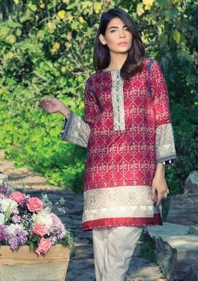 Akaram new summer lawn dresses for women