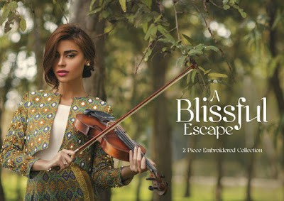 Alkaram Blissful Escape Summer Lawn Prints 2017 Collection