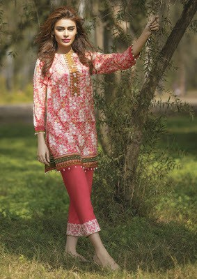 Alkaram Summer Embroidered Dresses 2018 Collection