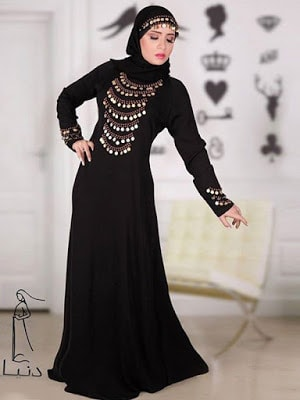 Awesome abayas designs 2017 collection