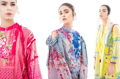 Ethnic by outfitters new summer lawn designs in pakistan