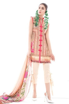 Ethnic by outfitters summer lawn Designs 2018