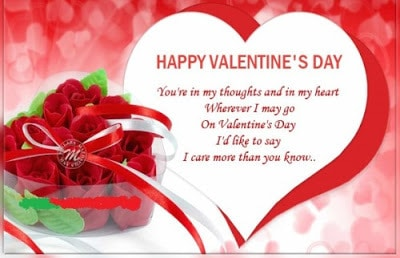 Happy romantic valentines day 201 text messages for your wife