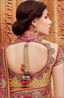Indian-pattu-blouse-designs-for-silk-sarees-2017-for-women-10