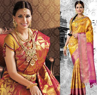 Indian-pattu-blouse-designs-for-silk-sarees-2017-for-women-1