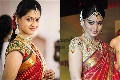 Indian-pattu-blouse-designs-for-silk-sarees-2017-for-women-4