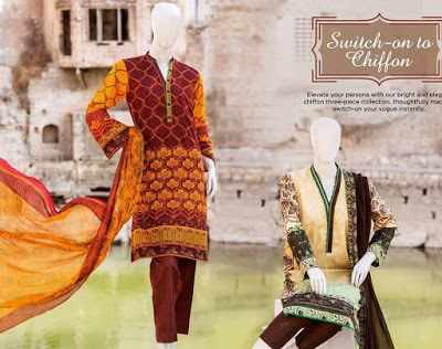 Junaid Jamshed Lawn 2018 Collection Latest Design