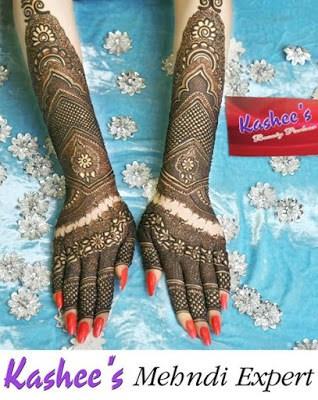 Kashee's Mehndi Expert Signature Bridal Mehndi Designs