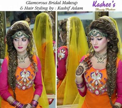 Kashif Aslam wedding hair and makeup for brides 2017