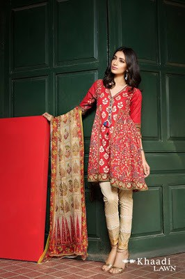 Khaadi-embroidered-lawn-suit-2017-chiffon-dress-collection-for-women-11