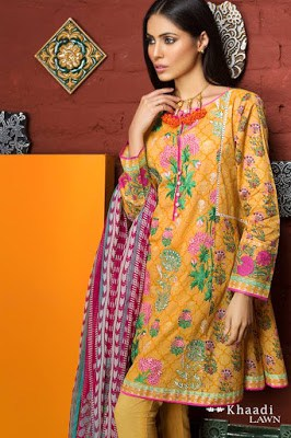 Khaadi-embroidered-lawn-suit-2017-chiffon-dress-collection-for-women-1