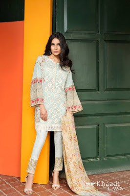 Khaadi-embroidered-lawn-suit-2017-chiffon-dress-collection-for-women-2