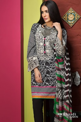 Khaadi-embroidered-lawn-suit-2017-chiffon-dress-collection-for-women-3