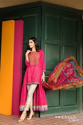 Khaadi-embroidered-lawn-suit-2017-chiffon-dress-collection-for-women-9