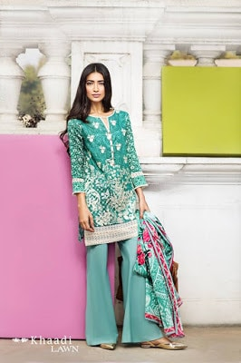 Khaadi-summer-lawn-prints-embroidered-shirt-2017-collection-5