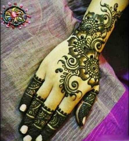 latest mehndi designs bridal for full hand