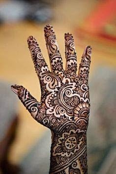 Bridal mehndi designs for full hands with new pattern