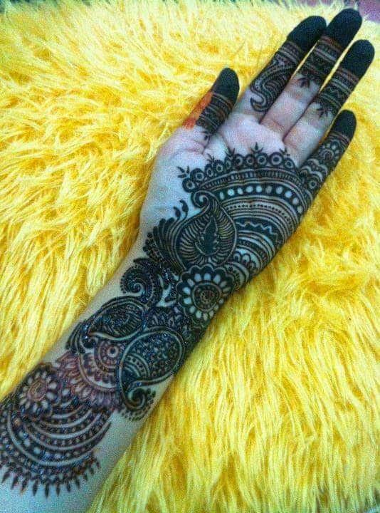 indian wedding henna designs