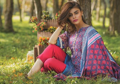 Latest Alkaram Lawn 2018 Summer Collection With Price