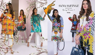 Latest Sana Safinaz collection 2017 lawn prints spring summer