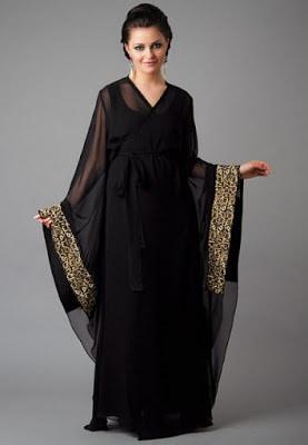 Latest Saudi Arabia and Dubai Abaya Designs 2017