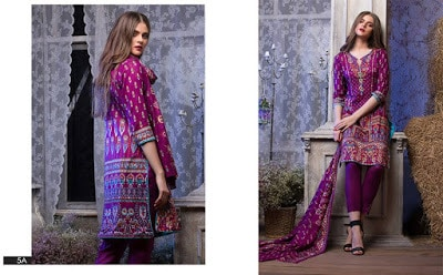 Latest and stylish sahil lawn designs dress