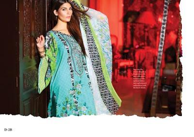 Latest shariq textiles Reeva lawn print Designs 2018-18
