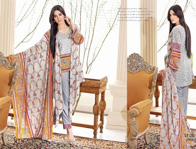 Libas Embroidered Lawn 2017 Spring Summer Dresses By Shariq