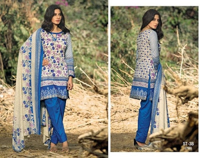 Libas Embroidered Lawn Collection 2017 by Shariq