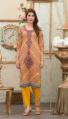 Moon Textile new summer collection 2017 in Pakistan