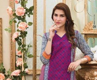 Moon Textiles lawn dresses for summer season