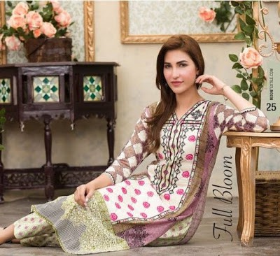 Moon Textiles printed summer lawn dresses for women