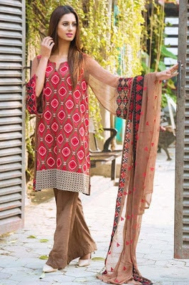 Motifz chiffon Dresses 2018 pakistani