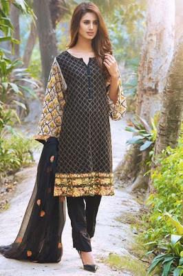 Motifz embroidery designs dresses pakistani