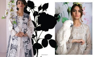New Sana Safinaz lawn Collection 2017 for summer